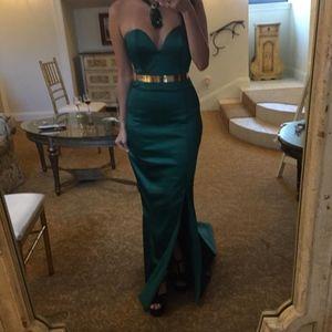 Portia Scarlett Emerald Green Georgia Gown XS